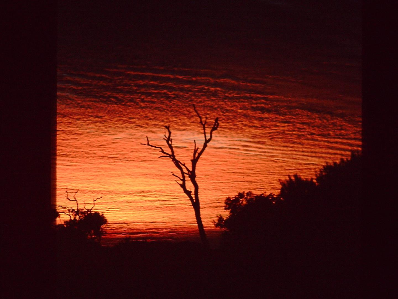 Der Himmel brennt (Scan vom Dia)