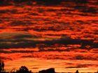 Der Himmel in Flammen