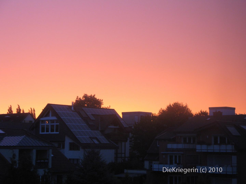 Der Himmel in pink