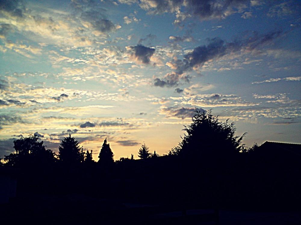 Der Himmel trägt alles.