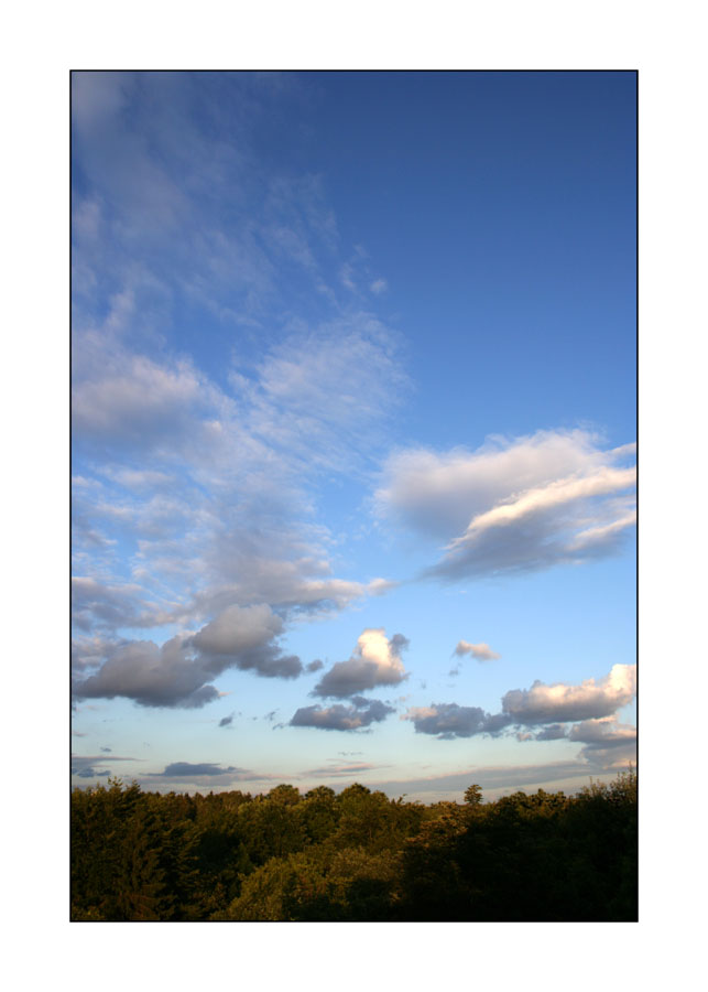 Der Himmel über Balkonien