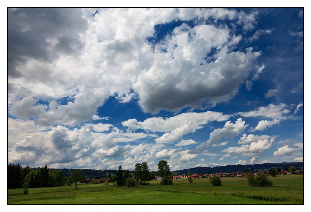 Der Himmel über Bayern