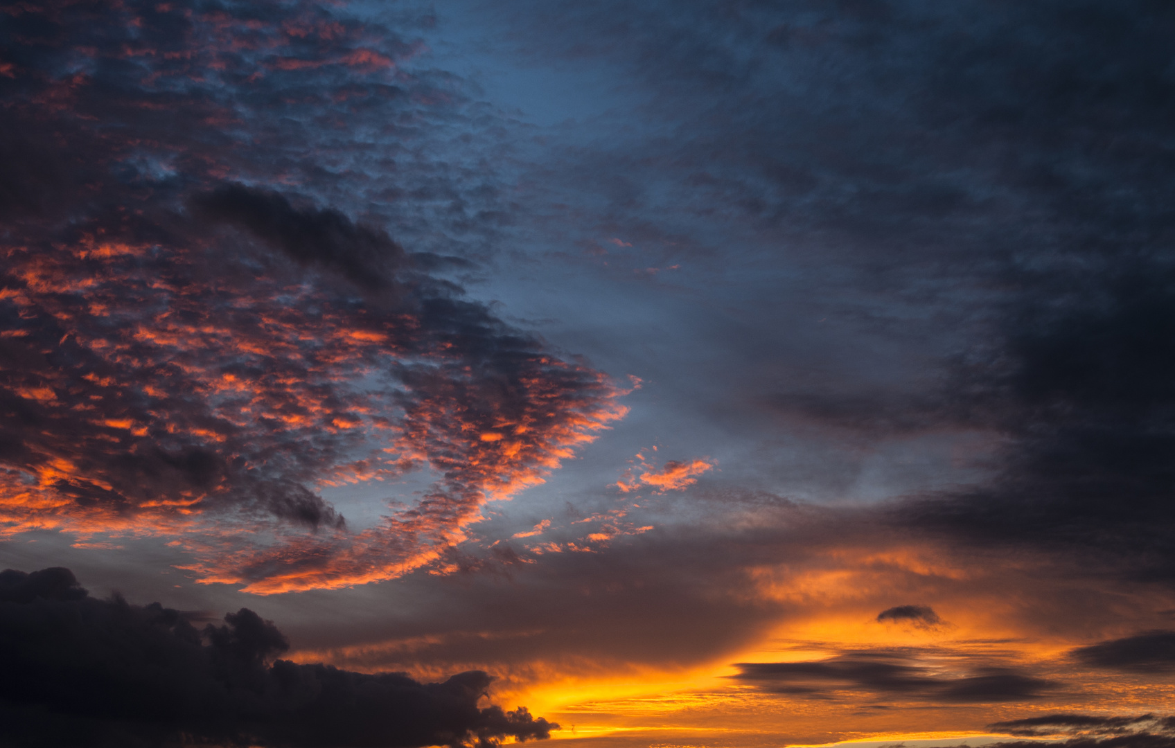 Der Himmel über... bei uns