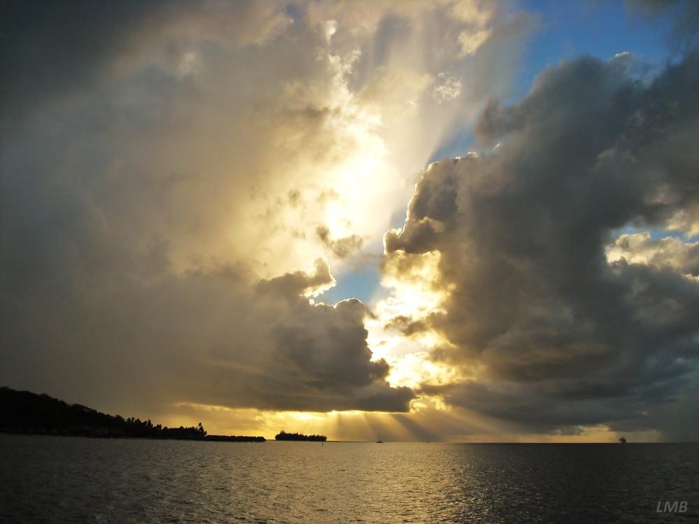Der Himmel über Bora Bora