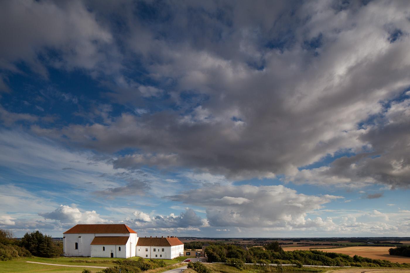 Der Himmel über Børglum Kloster