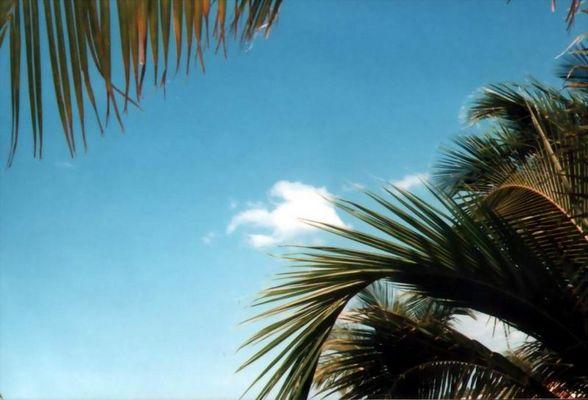 Der Himmel über Cuba.