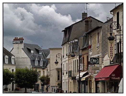 Der Himmel über Deauville