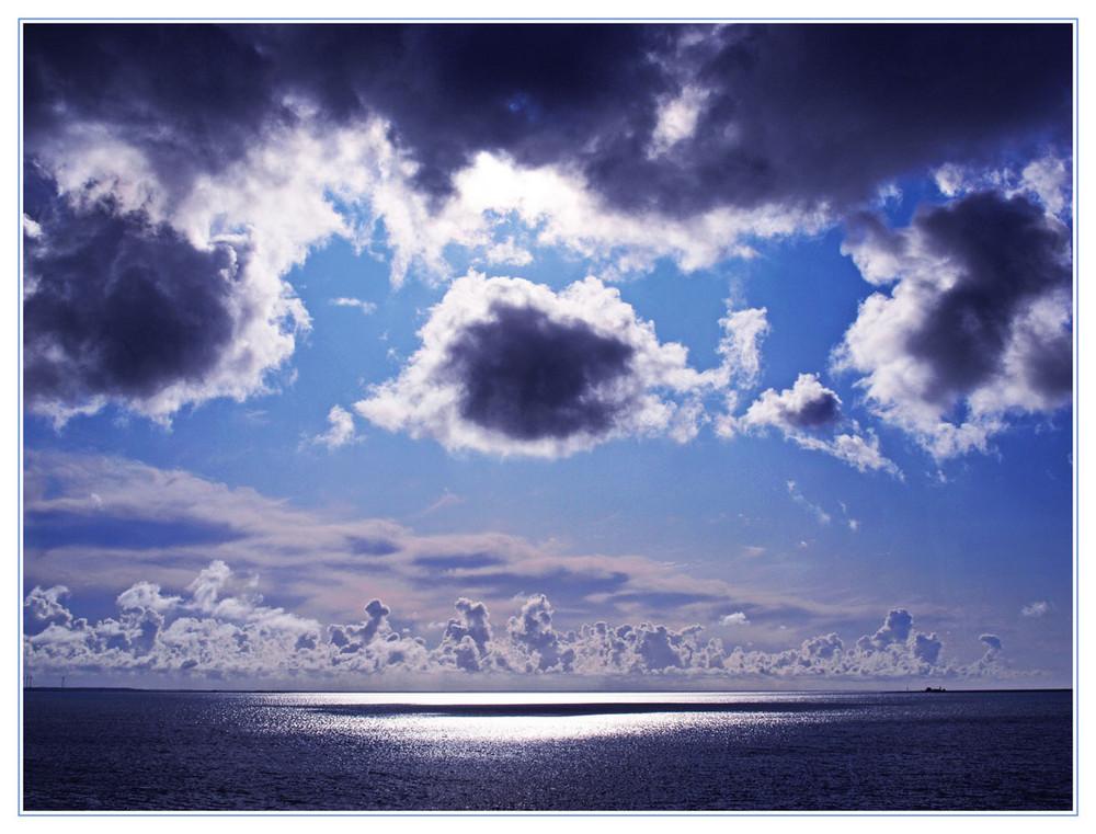 Der Himmel über dem Baltikum