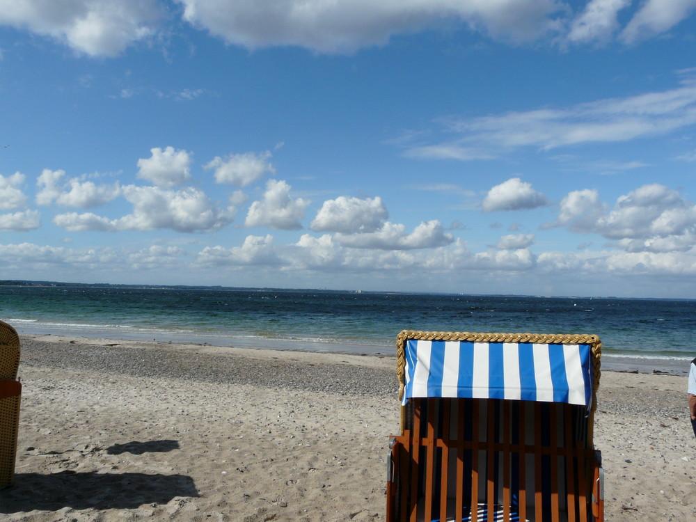der Himmel über der Ostsee