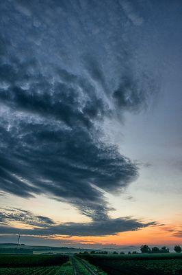 Der Himmel über Deutschland - Vor Sonnenaufgang bei Kollig