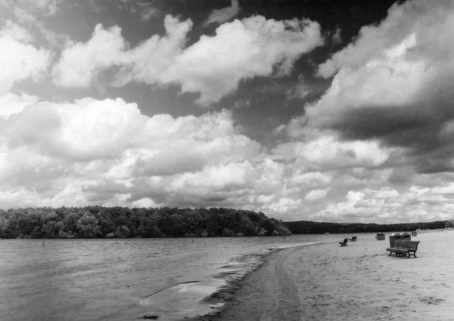 Der Himmel über Haltern am See.