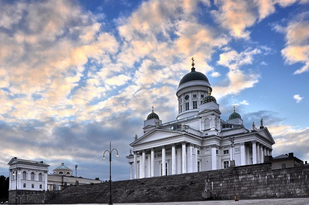 Der Himmel über Helsinki