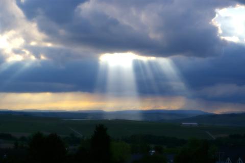 Der Himmel über Nieder-Olm