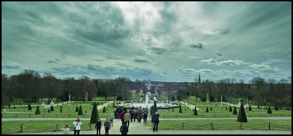 Der Himmel über Potsdam