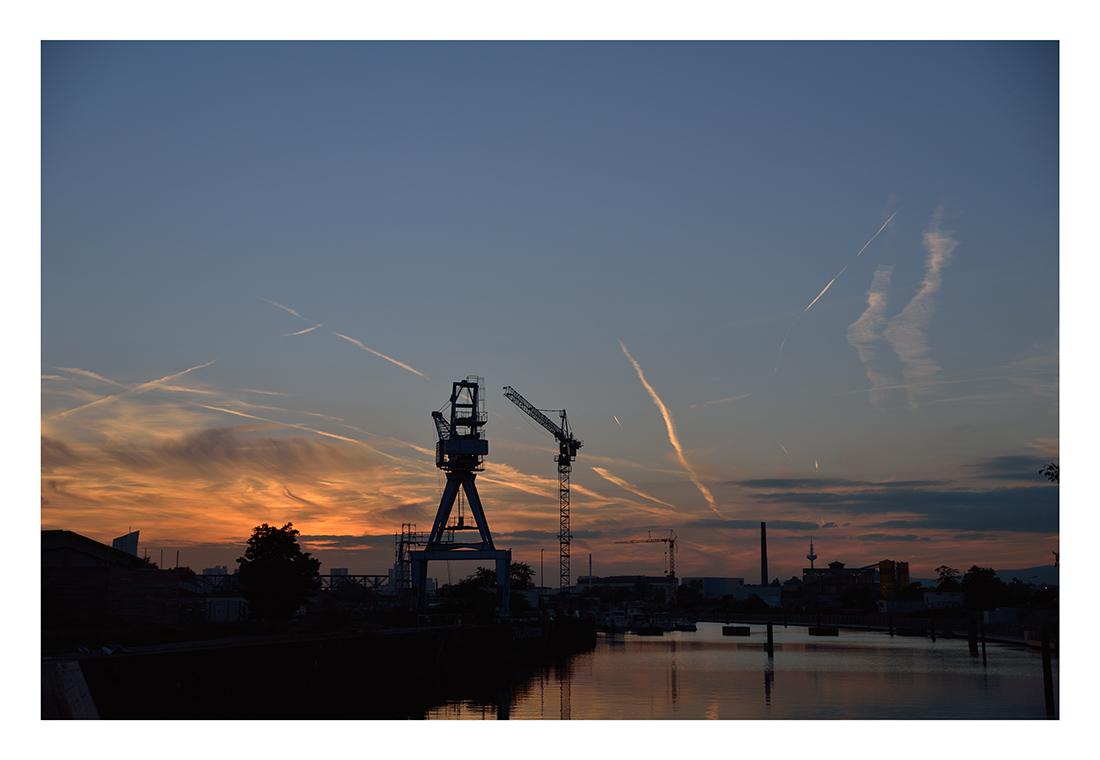 Der Himmel über Rhein-Main