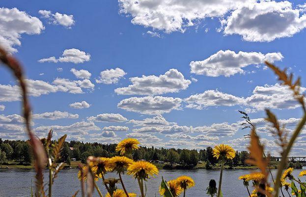 Der Himmel über Rovaniemi ..