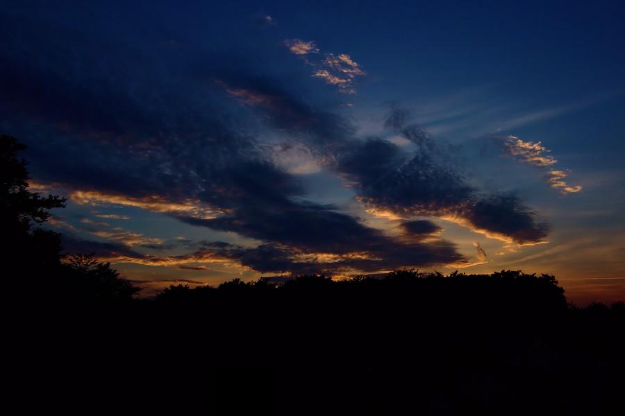 Der Himmel über Wermelskirchen ...