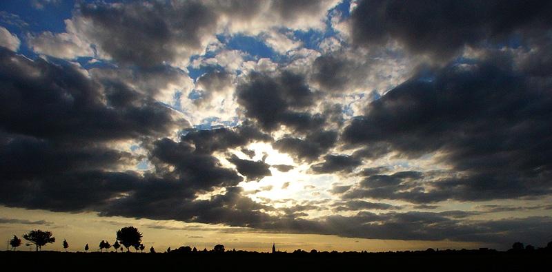 Der Himmel über Willich