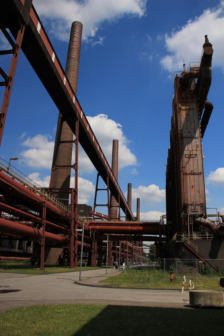 Der Himmel über Zollverein