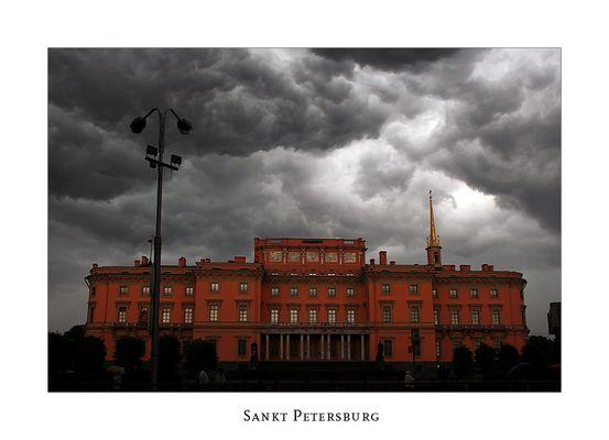 Der Himmerl über Sankt Petersburg