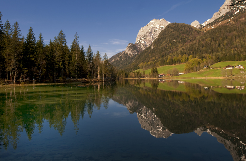 Der Hintersee - NP Berchtesgadener Land