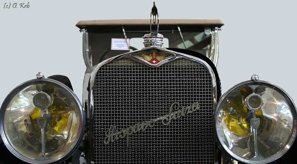"""Der """"Hispano Suiza""""...."""