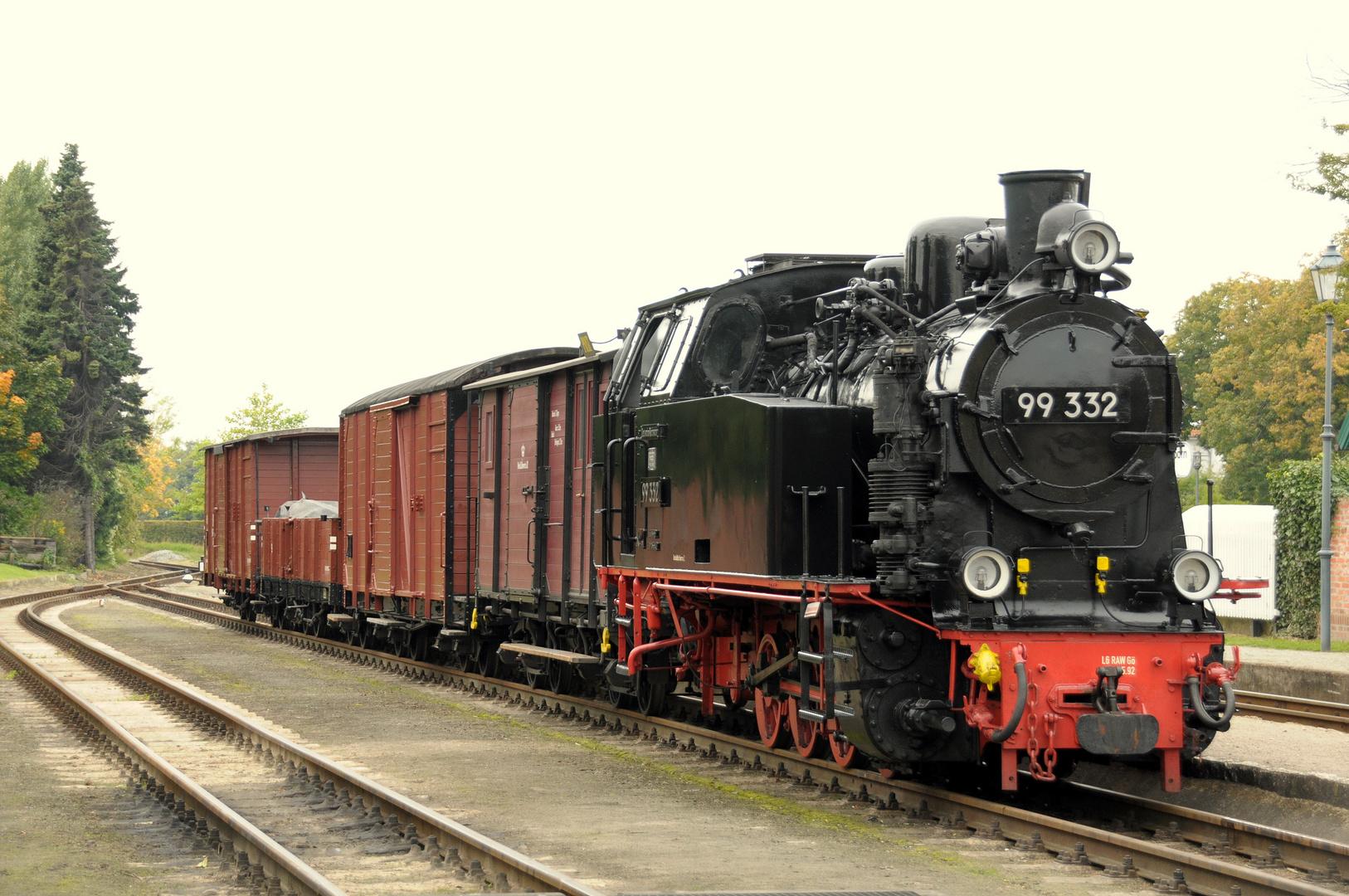 Der historische Güterzug