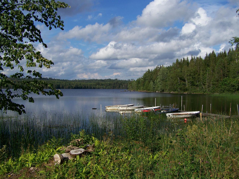 Der Hjortesjön in Småland