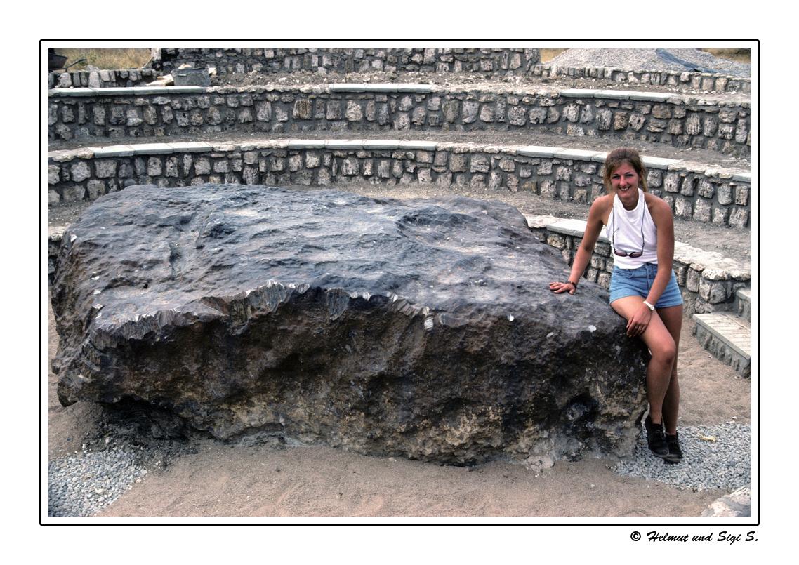 Der Hoba - Meteorit