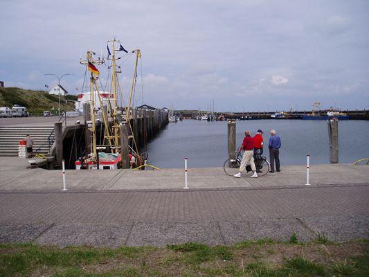 der Hörnumer Hafen auf Sylt