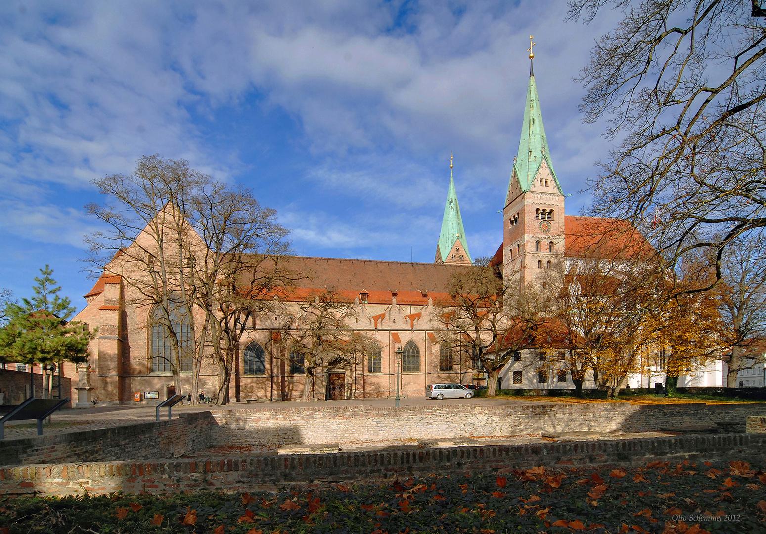 Der Hohe Dom zu Augsburg