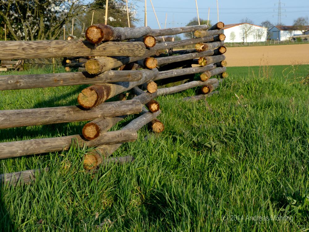 Der Holzzaun