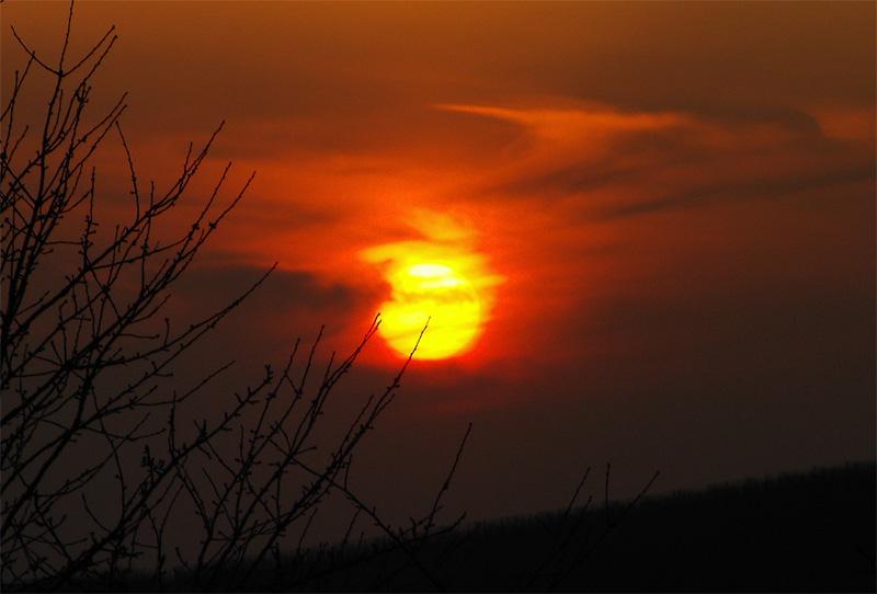 Der Horizont steht in Flammen