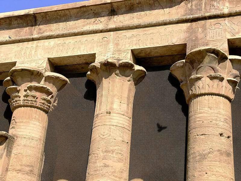 Der Horus Tempel in Edfu (3)