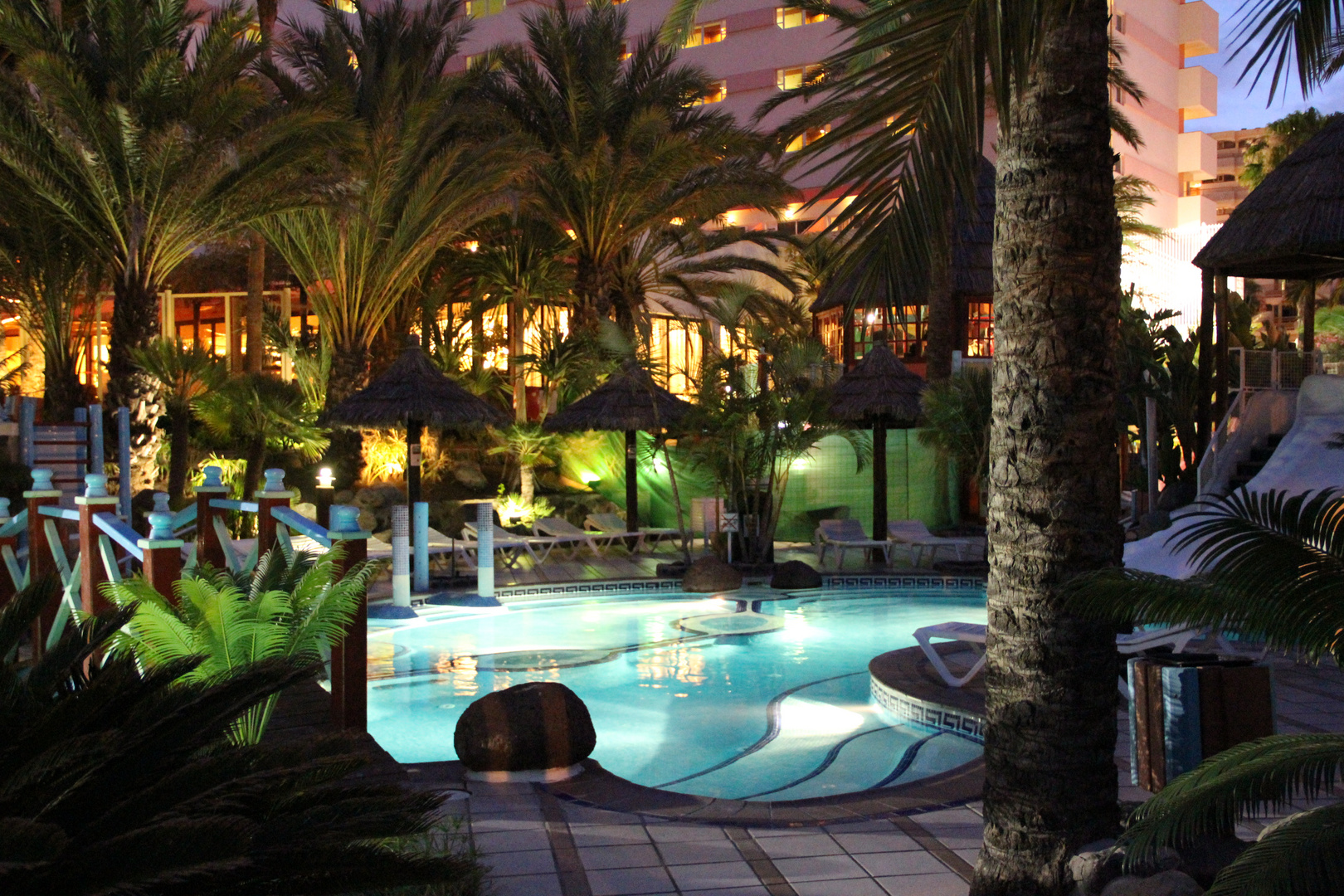 Der Hoteleigene Pool