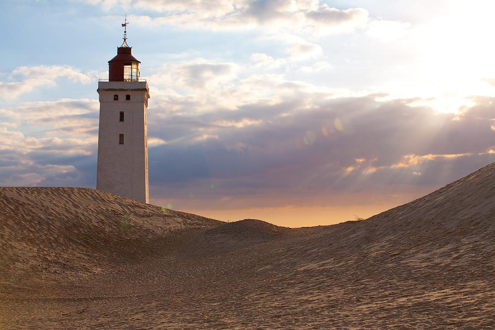 Der im Sand versunkene Leuchtturm Rubjerg Knude
