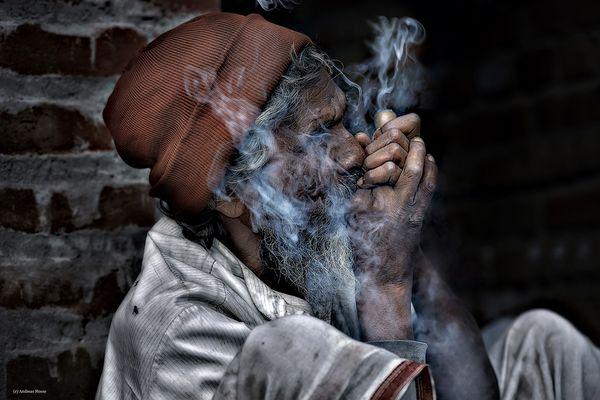 Der Inder und sein Joint