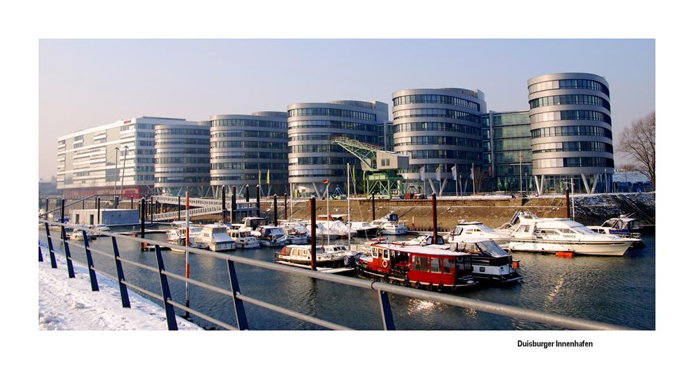Der Innenhafen im Winter