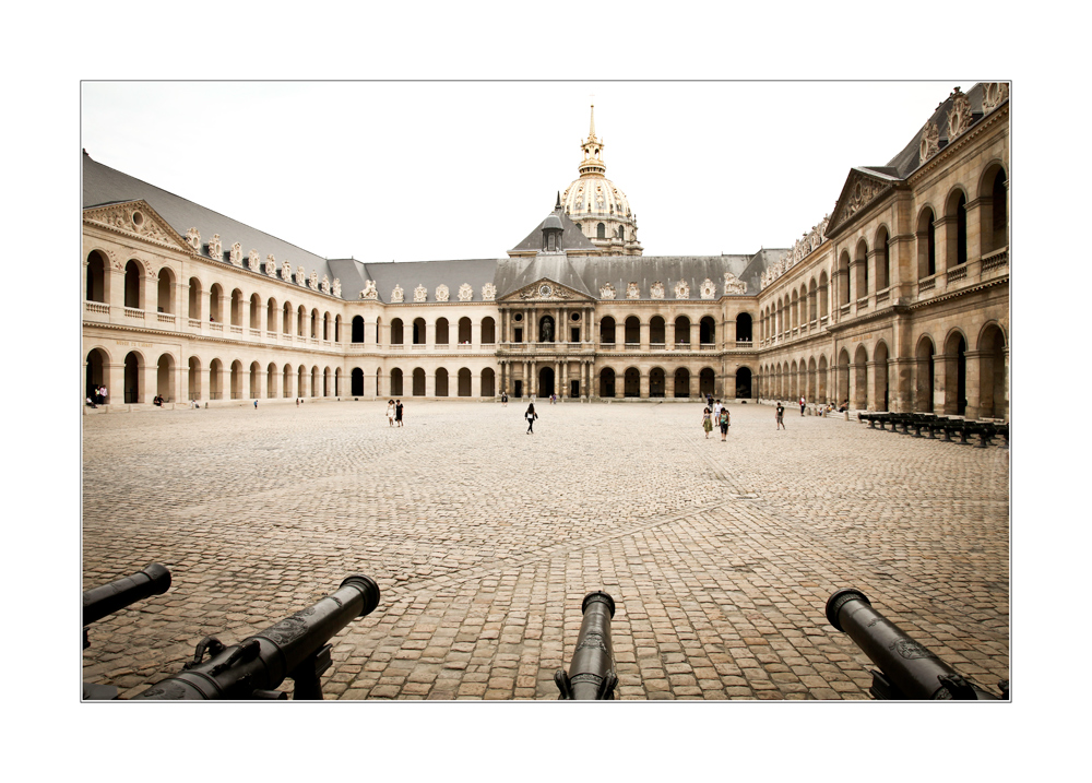 - der Invalidendom in Paris -