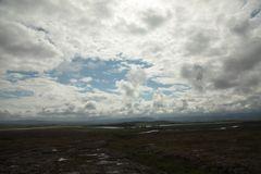 Der isländische Himmel