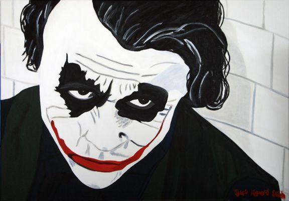 """der """"Joker"""" aus der Batman-Reihe- gespielt von Heath Ledger"""