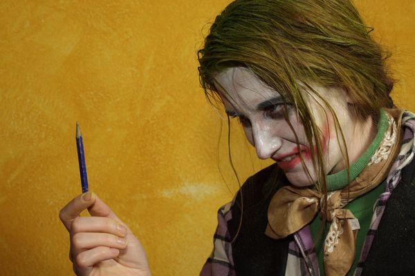 Der Joker und sein Bleistift
