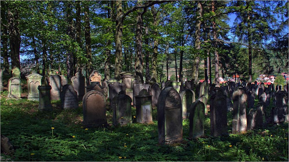 Der jüdische Friedhof in Bauerbach