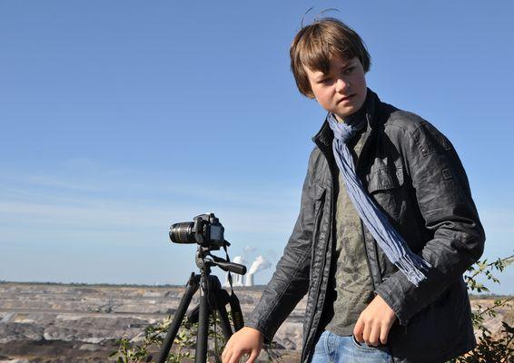 Der junge Fotoreporter Robert