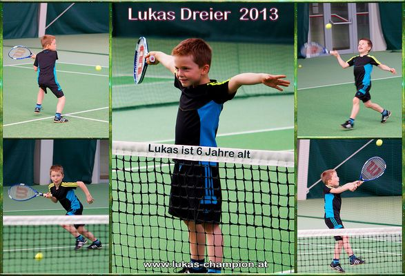 Der Junge Sportler Lukas Dreier.