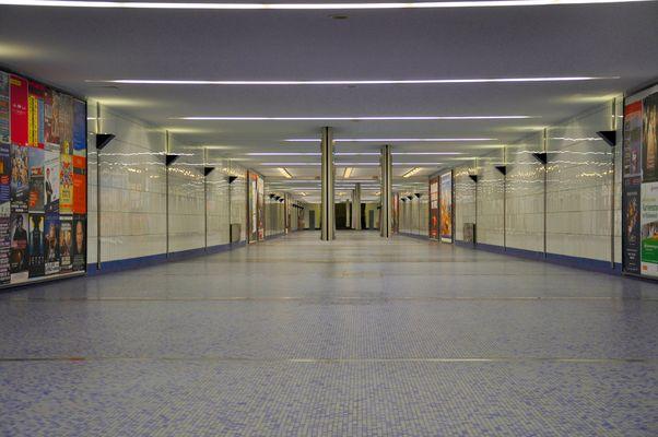 der Jungfernstieg (U) (S) - Hamburg