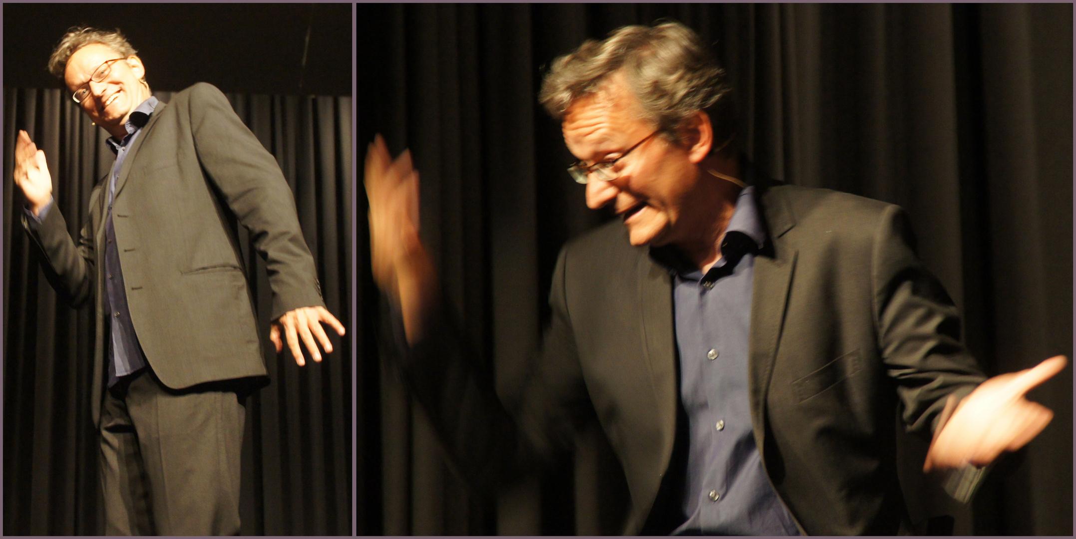 Der Kabarettist Frank Lüdecke (2)