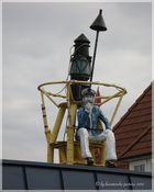 Der Käpt`n auf dem Dach