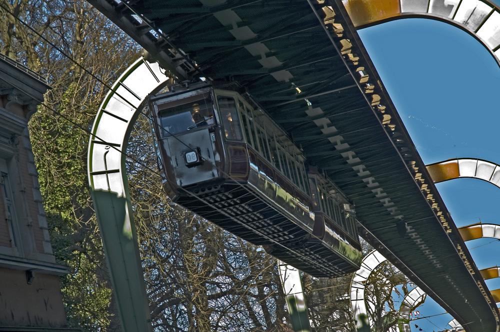 Der Kaiserwagen - Schwebebahn Wuppertal