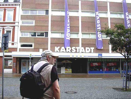 Der Karstadt in Husum